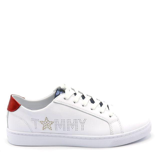 Tommy hilfiger Sneaker Blanc pas cher Achat Vente