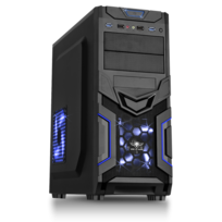 SPIRIT OF GAMER - Boitier PC ATX X-FIGHTERS 31 Blue Mana
