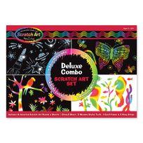 Melissa & Doug - Scratch Art Combo Deluxe