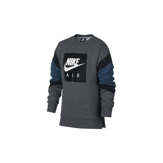 code promo 74254 0745a Nike - Sweat Air Crew Junior - Aj0114-071 - pas cher Achat ...