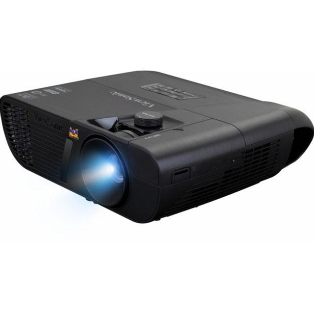 viewsonic videoprojecteur full hd 2200 lumens contraste 22 000 1 pas cher achat vente. Black Bedroom Furniture Sets. Home Design Ideas