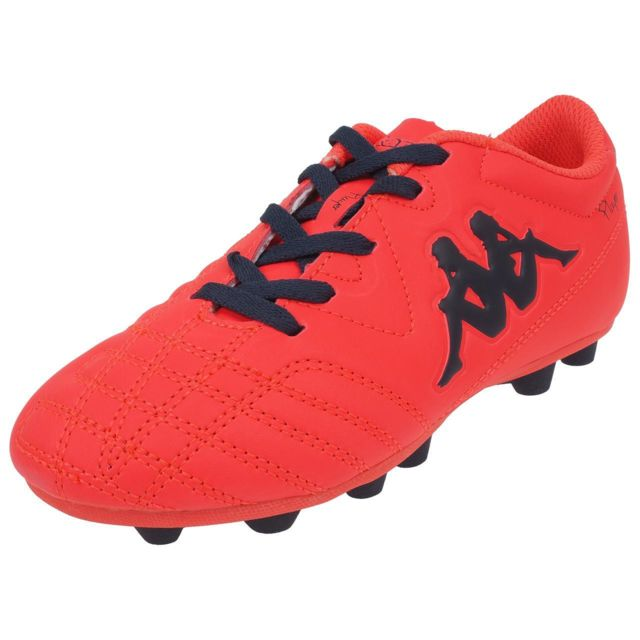 Chaussures Orange Player Fg Kappa Lacet Moulées Fluo Football 04wdqPd