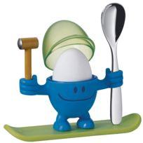 Wmf - Coquetier bonhomme avec cloche et cuillère Mc Egg
