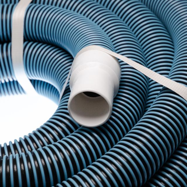 stabilis/é UV Filtre aspirateur r/ésistant au Chlore vhbw Tuyau Flexible pour Piscine raccord 38mm 7.6m pour Skimmer