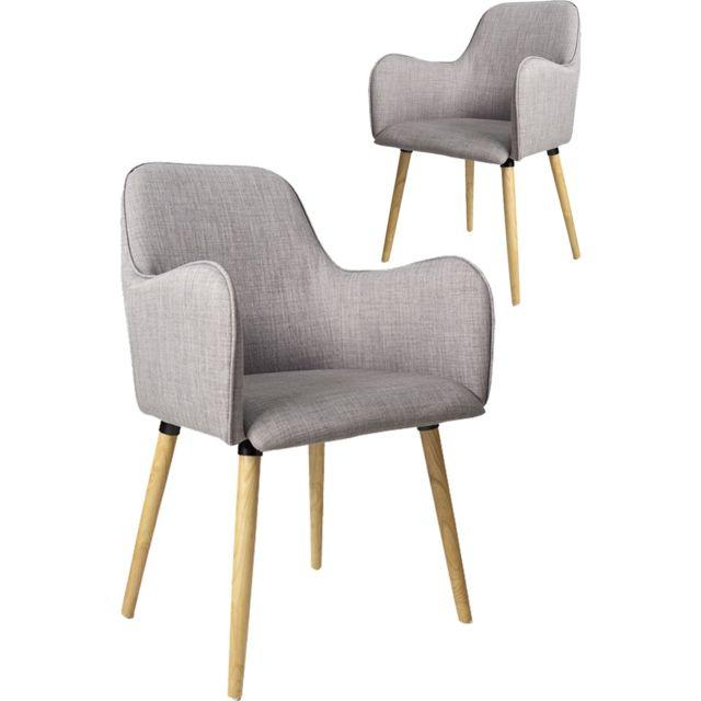 chaises 2 de scandinave avec COMFORIUM Lot design WE9I2HD