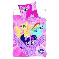 My Little Pony - Mon Petit Poney - Parure de Lit Enfant - Housse de Couette