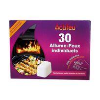 Actifeu - allume feu sans odeur x30 - actcus30