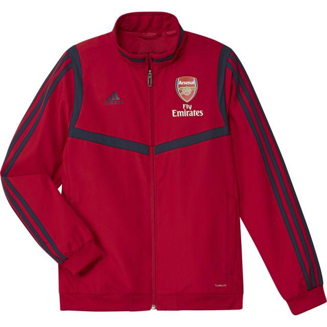 Adidas Veste pré match junior Arsenal Fc 201920 pas