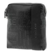 Versace - Sacoche pochette bandouliére jeans Trieste pochette Noir 38217