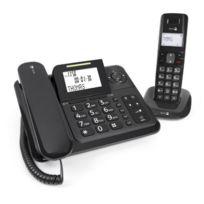 Doro - Comfort4005 Téléphone filaire + combiné avec répondeur Noir