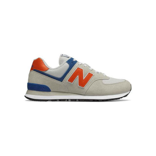 baskets new balance 574 orange