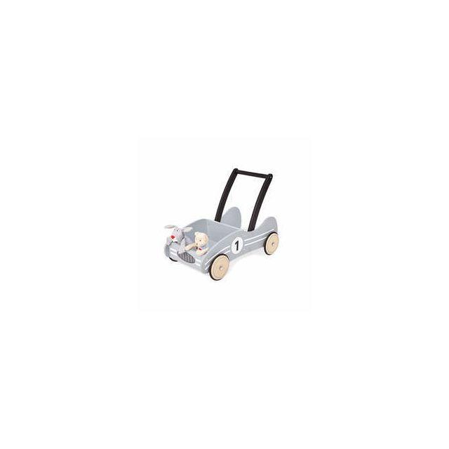 Pinolino Chariot de marche gris