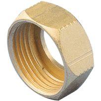 Raccords - Ecrou 6 pans - Filetage 15 x 21 mm - Diam. 12 mm - Par 2