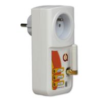 Iqtronic - Prise Gsm et Réseau local avec détection de coupure Iqsocket mobile