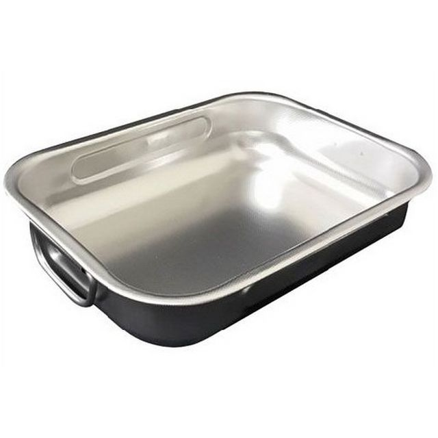 STEEL PAN plat à four inox 25x19cm - 11160