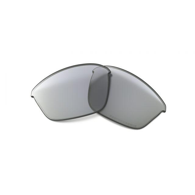 99ea2d2b073103 Oakley - Verres Half Jacket 2.0 Clear Black Photo Gris - pas cher Achat   Vente  Lunettes Tendance - RueDuCommerce