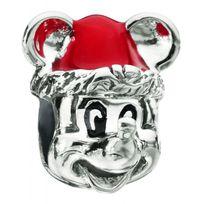 Chamilia - Charm en Argent et Email - Disney Santa Mickey