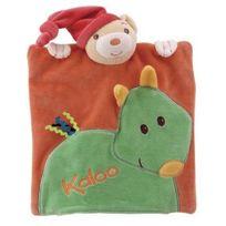 Kaloo - Pop : Doudou Ours Marionnette Cheval Vert
