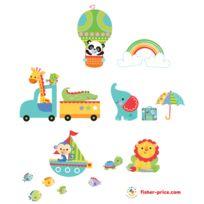 FunTosee - Stickers muraux animaux de la jungle Rainforest