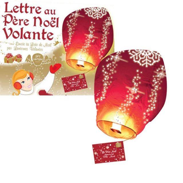 Lanterne Lettre Au Père Noël 60 X 105 Cm