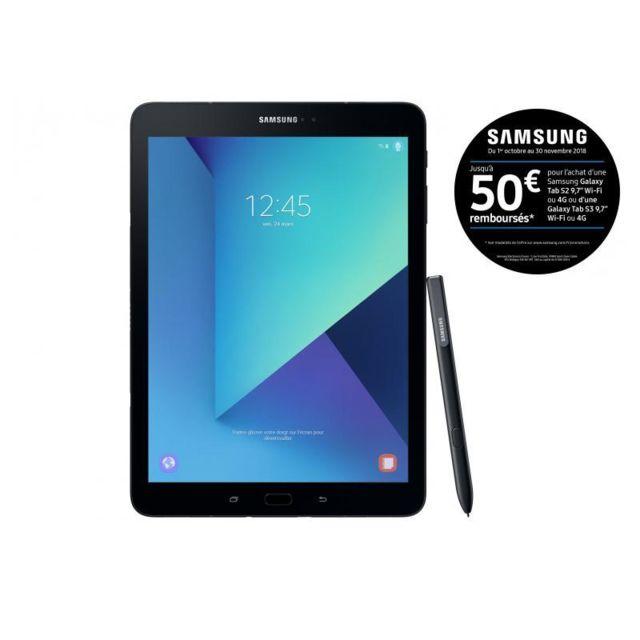 Samsung Galaxy Tab S3 - 9,7'' - 32 Go - Noir