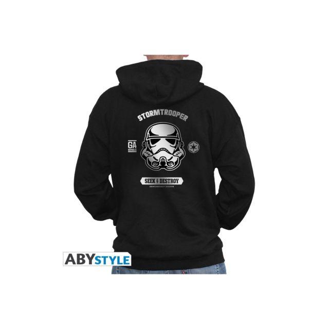 Abystyle Star Wars - Sweat - Trooper homme black