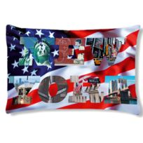 Cbkreation - Coussin rectangulaire Usa by