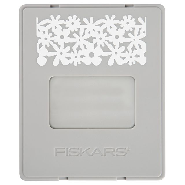 Fiskars - AdvantEdge - Set de Démarrage avec Cartouche Fleurs