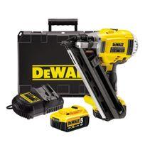 Dewalt - Dcn692P2 Cloueur de charpente 2 vitesses 18V 5Ah Brushless Coffret