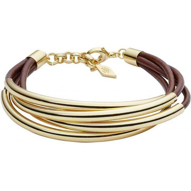 bracelet femme fossil cuir