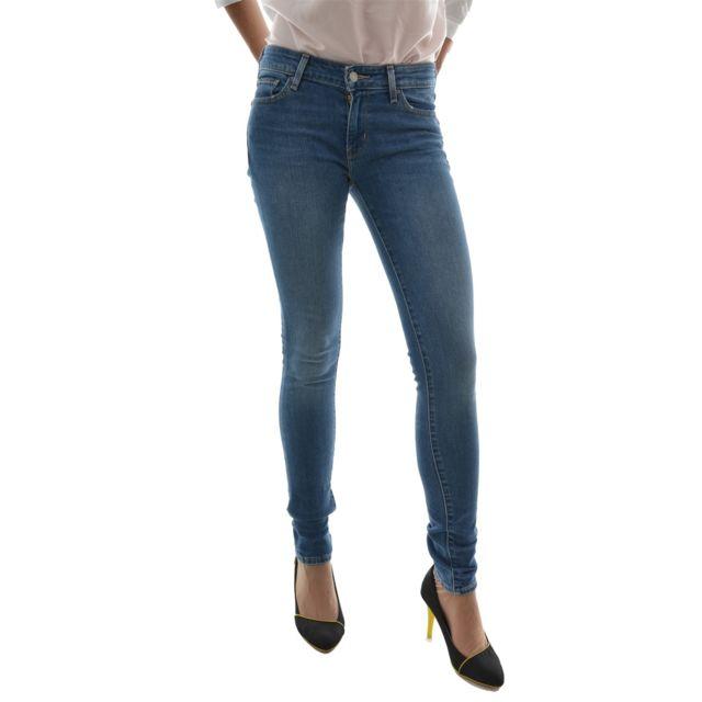 Levi s - jeans levis 711 skinny bleu 26 34 - pas cher Achat   Vente ... 93c3bad3ed58