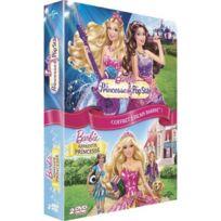 Dvd - Coffret Barbie 2 - La Princesse Et La Popstar + Apprentie Princesse