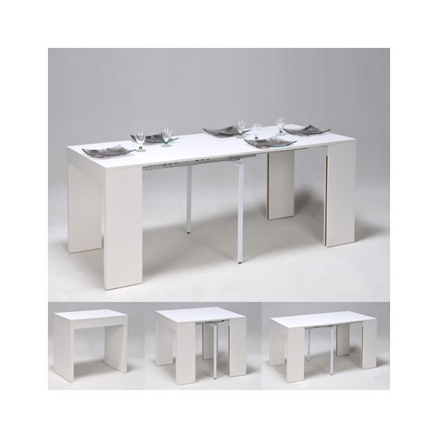 No Name Table extensible Nova 45-90-135-180 cm / Blanc