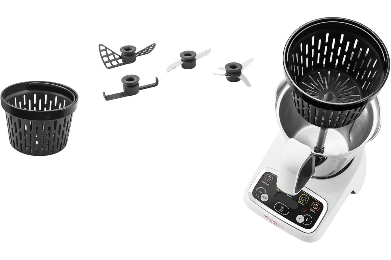 Moulinex robot cuiseur volupta hf404110 achat robot multifonction - Robot cuiseur volupta moulinex avis ...