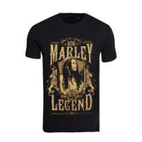 Magiccustom , Bob Marley , T,shirt Homme Col Rond Rebel Music Legend