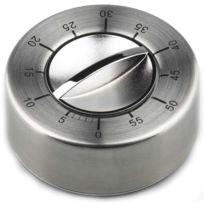GSD - minuteur mécanique inox 60mn - 80146