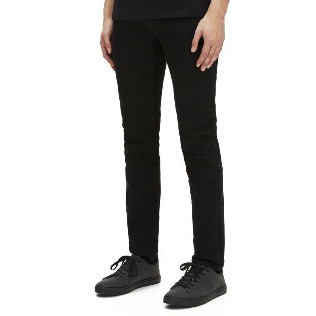 CELIO JEAN AFOWOIR Noir Jean en denim super stretch 5 poches, coupe slim