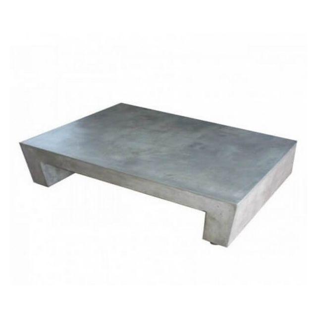 Mathi Design Beton U - Table basse rectangulaire