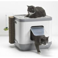 Les Animaux De La Fee - Maison De Toilette Chat Le Cube