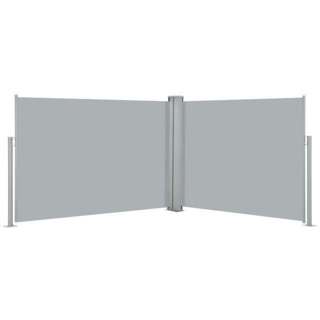 Vidaxl Auvent latéral rétractable Anthracite 100 x 1000 cm
