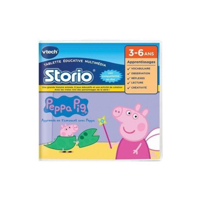 VTECH - Jeu Storio PEPPA PIG