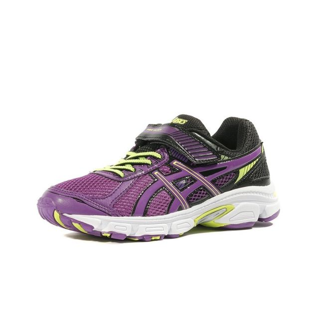 0ccc3ad1bd17c ... Asics - Pre Ikaia 5 Ps Fille Chaussures Running Violet Multicouleur  33.5 ...