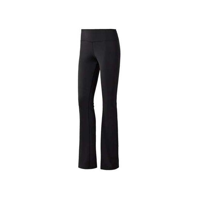 Reebok - Pantalon Workout Ready French Terry Bootcut noir femme Multicolour  - pas cher Achat   Vente Pantalons, caleçons - RueDuCommerce 4b758fd2e3ee