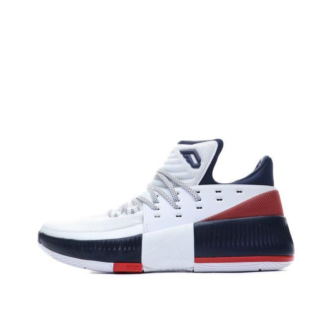 Adidas D Lillard 3 Chaussures Basket ball Blanc Homme