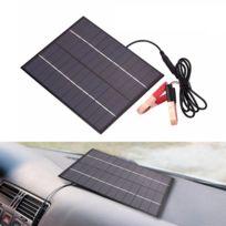 Solar Power D/écoration de tableau de bord de voiture avec /énergie solaire Bleu