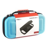 BIGBEN INTERACTIVE - Bigben Interactve - Pochette de protection bleue large pour Nintendo Switch