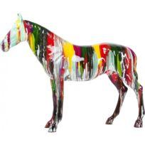Karedesign - Déco Horse Xxl cheval Colore Kare Design