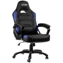 NITRO CONCEPTS - Fauteuil Gaming C80 Comfort - Noir/Bleu