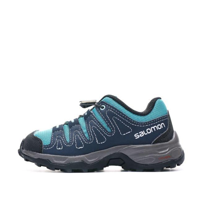 Salomon Chaussures de marche bleu enfant Walapai Multicouleur 27
