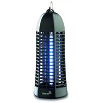 Plein Air - Lampe piege anti moustique et insectes Noir - Décharge électrique 1000V - Champ action 20 m2